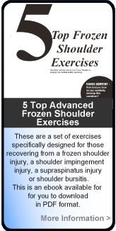 Top 5 Frozen Shoulder Exercises