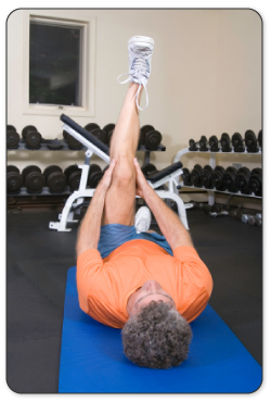 Warm up and stretch hamstrings properly before activity to avoid a hamstring strain or pulled hamstring.