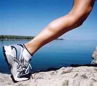 calf muscle strain healing therapies