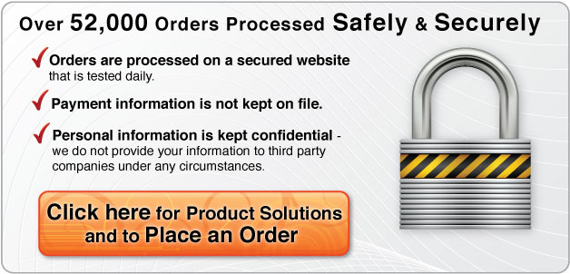 order our pain products securely on-line
